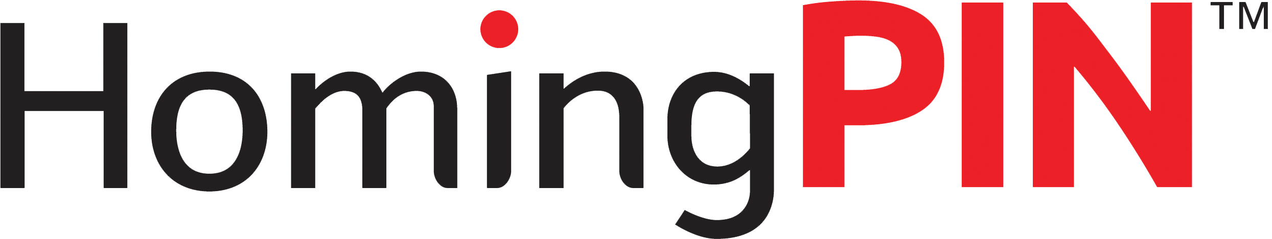 HomingPIN logo without the PIN or tagline